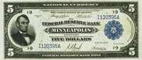 Fr. 799 $5 1918 Federal Reserve Bank Note PMG Gem Uncirculated 65 EPQ