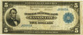 Fr. 801 $5 1915 Federal Reserve Bank Note PMG Very Fine 20