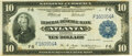 Fr. 812 $10 1918 Federal Reserve Bank Note PMG Very Fine 30