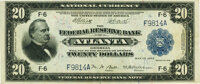 Fr. 823 $20 1918 Federal Reserve Bank Note PMG Extremely Fine 40