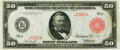 Large Size:Federal Reserve Notes, Fr. 1021a $50 1914 Red Seal Federal Reserve Note PMG Very Fine 30.. ...
