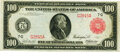 Large Size:Federal Reserve Notes, Fr. 1078a $100 1914 Red Seal Federal Reserve Note PMG Choice Very Fine 35.. ...