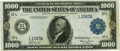 Fr. 1133-L $1000 1918 Federal Reserve Note PMG Choice Very Fine 35