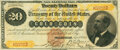 Large Size:Gold Certificates, Fr. 1175a $20 1882 Gold Certificate PMG Very Fine 30.. ...