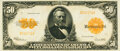 Large Size:Gold Certificates, Fr. 1200am $50 1922 Mule Gold Certificate PMG Choice Very Fine 35.. ...