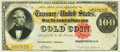 Large Size:Gold Certificates, Fr. 1210 $100 1882 Gold Certificate PMG Choice Very Fine 35.. ...