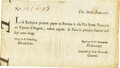 Colonial Notes:Maryland, La Banque (Royale) January 1, 1720 10 Livres SCWPM# A16b PMG Very Fine 25.. ...