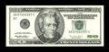 Error Notes:Blank Reverse (<100%), Fr. 2083-B $20 1996 Federal Reserve Note. Choice AboutUncirculated.. ...