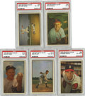 Baseball Cards:Sets, 1953 Bowman Color Baseball Complete Set (160).Offered is a 1953 Bowman Color complete set. This set is considered by many co...
