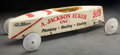 Collectible, Soap Box Derby Racer. Marks: Seth 565, A. JACKSON ECKER INC., Plumbing-Heating-Cooling, (Goodyear cipher). 76 x 33 x...