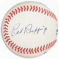 Autographs:Baseballs, 1982 Red Ruffing All-Star Game Single Signed & Inscribed Baseball. ...