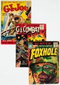Silver Age (1956-1969):War, Silver Age War Comics Group of 9 (Various Publishers, 1955-56) Condition: Average GD+.... (Total: 9 )