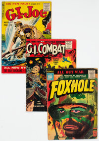 Silver Age War Comics Group of 9 (Various Publishers, 1955-56) Condition: Average GD+.... (Total: 9 )