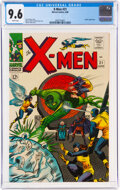 Silver Age (1956-1969):Superhero, X-Men #21 (Marvel, 1966) CGC NM+ 9.6 White pages....