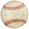 Autographs:Baseballs, Dan Topping Jr. Single Signed Baseball. ...