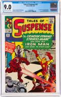 Silver Age (1956-1969):Superhero, Tales of Suspense #52 (Marvel, 1964) CGC VF/NM 9.0 Off-white to white pages....