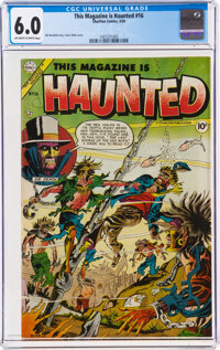 This Magazine Is Haunted #16 (Charlton, 1954) CGC FN 6.0 Off-white to white pages