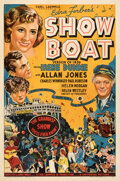 """Movie Posters:Musical, Show Boat (Universal, 1936). Fine+ on Linen. One Sheet (27"""" X 41"""").. ..."""