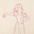Animation Art:Production Drawing, Snow White and the Seven Dwarfs Animation Drawing (Walt Disney, 1937). ...