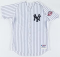 Baseball Collectibles:Uniforms, 2003 Roger Clemens New York Yankees Team Issued Home Jersey. ...