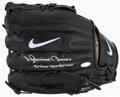 Autographs:Others, Mariano Rivera Signed Nike Pro Model Glove - With Inscription....