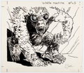 "Original Comic Art:Illustrations, Guillaume Sorel ""la Bête Machine"" [The Beast Machine] Role-Playing Game Related Illustration Original Art (c. 1989)...."