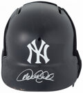 Autographs:Others, Derek Jeter Signed Batting Helmet....