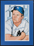 Autographs:Photos, Gerry Dvorak - Mickey Mantle Signed Limited Edition Lithograph Print #278/450 (undated). ...