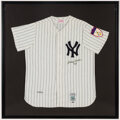 """Autographs:Jerseys, Circa 1990 Mickey Mantle """"No. 7"""" Signed New York Yankees UDA Jersey - Limited 334/536...."""