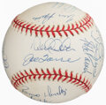 Autographs:Baseballs, 1998 New York Yankees Multi-Signed Baseball. ...