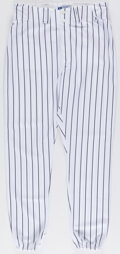 Baseball Collectibles:Uniforms, 2004 Bobby Murcer Game Worn New York Yankees Old-Timers' Day Pants from The Bobby Murcer Collection. ...