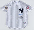 Autographs:Jerseys, Roger Clemens Signed New York Yankees Jersey. ...