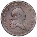 Early Half Dollars, 1795 50C Two Leaves -- Damage -- PCGS Genuine. VG Details. Mintage 299,680. ...