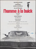 "Movie Posters:Foreign, The Man in the Buick (Comacico/Metropolitan Film, 1968). Folded, Very Fine. French Moyenne (22.75"" X 31"") & Belgian (14.5"" X... (Total: 2 Items)"
