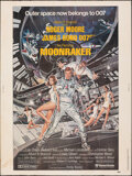 "Movie Posters:James Bond, Moonraker (United Artists, 1979). Rolled, Fine-. Poster (30"" X 40"") Dan Goozee Artwork. James Bond.. ..."