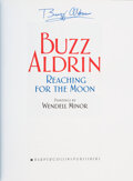 Explorers:Space Exploration, Buzz Aldrin Signed Book: Reaching For The Mo...