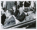 Explorers:Space Exploration, John Glenn Signed Cocoa Beach Parade Photo, Shown with President John F. Kennedy. ...