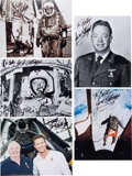 Explorers:Space Exploration, Joe Kittinger: Group of Five Signed and Inscribed Photos.