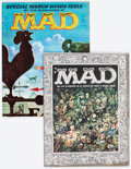 Magazines:Mad, MAD Magazine #27 and 62 Group (EC, 1956-61).... (Total: 2 Comic Books)