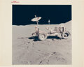 Explorers:Space Exploration, Apollo 15: Lunar Roving Vehicle on Moon's Surface ...