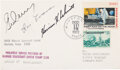 Explorers:Space Exploration, Apollo 17 Crew-Signed Moonlanding Cover with LOA from Stev...