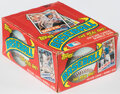 Baseball Cards:Unopened Packs/Display Boxes, 1985 Topps Baseball Wax Box With 35 Unopened Packs - Mark McGwire & Kirby Puckett Rookie Year! ...