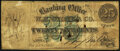Obsoletes By State:Michigan, Adrian, MI - Banking Office of W. H. Stone & Co. 25¢ Oct. 15, 1862 Very Good.. ...