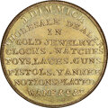 U.S. Merchant Tokens (1845-1860), (1850s) Detroit, Michigan, J. Dimmick, M. MICH -3 MS67 NGC. Brass, reeded edge.. Ex: Bowers and Ruddy (10/1981), lot 2560;...