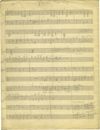 "Duke Ellington ""You're the Top"" Handwritten Score. Duke Ellington wrote and arranged his songs with the unique..."