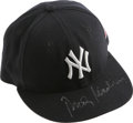 Autographs:Others, Rudy Giuliani Signed New York Yankees Cap. Former New York City mayor Rudy Giuliani gained national attention for how he de...