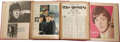 Music Memorabilia:Memorabilia, Beatles Scrapbooks Set. Three vintage scrapbooks containing a large assortment newspaper and magazine clippings about the Be...