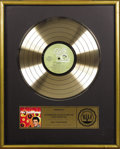 "Music Memorabilia:Awards, Elvis Presley ""Elvis' Golden Records"" RIAA Gold Album Award.Presented to WLCY Radio to commemorate the sale of more than 50..."