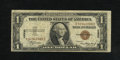 "Error Notes:Major Errors, Fr. 2300 $1 1935A Hawaii Silver Certificate. Fine.. The ""Hawaii""overprint is slightly off on this example. It was printed o..."