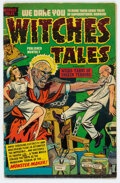 Golden Age (1938-1955):Horror, Witches Tales #11 (Harvey, 1952) Condition: VG....